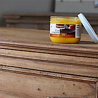 Cire antiquaire pâte bois ciré ton naturel Starwax 375ml