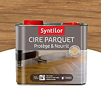 Cire liquide parquet Syntilor Naturel 2,5L