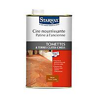 Cire nourrissante tomettes et terres cuites brun terre cuite Starwax 1L