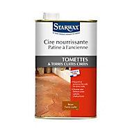 Cire tomettes brun terre cuite 1 l