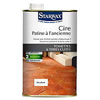 Cire tomettes et terres cuites incolore Starwax 1L