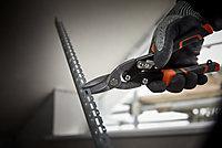 Cisaille à tôle coupe devant Magnusson 250mm