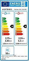Climatiseur monobloc Optiméo OAC-250-RE1 2410W