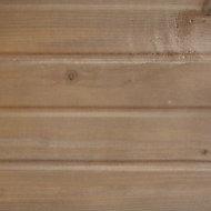 Clin pour bardage épicéa teinté marron Long.4,2 m