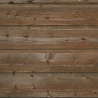 Clin pour bardage sapin bronze L.2,4 m