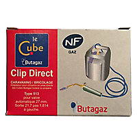 Clip direct pour cube Butagaz butane ou propane