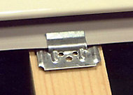 Clips lambris PVC n°1 bte 250 pcs