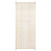Cloison amovible 3-en-1 pin Quadratus H.250 x l.100 cm