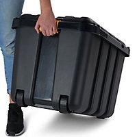 Coffre en plastique Skyda noir 149 L