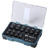 Coffret de noix de serrage Erbauer - 12 pièces
