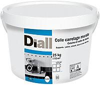 Colle carrelage murale cuisine et salle de bain Diall 25 kg