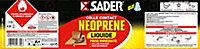 Colle Contact Néoprène Sader Liquide 2,5 L