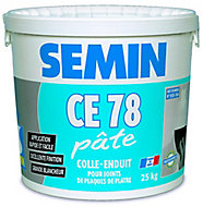 Colle-enduit pour joint CE 78 en pâte Semin 25kg