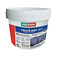 Colle et joint carrelage mur intérieur Parexlanko blanc 12kg