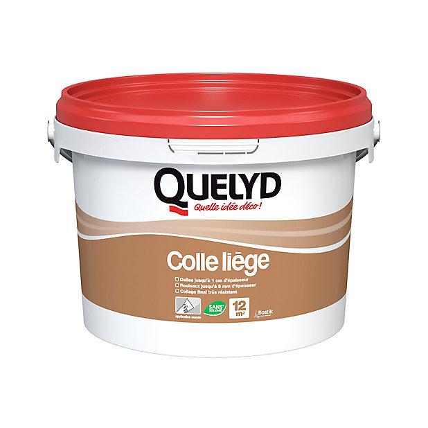 Colle Murale Quelyd Pour Liege Pate 3 Kg Castorama