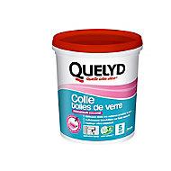 Colle Papier Peint Quelyd pour Toiles de Verre Pâte avec indicateur coloré 1 kg