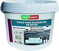 Colle plaquettes de parement béton Parexlanko poudre 15kg