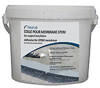 Colle pour membrane EPDM sur support bois et bêton Flexirub 8L