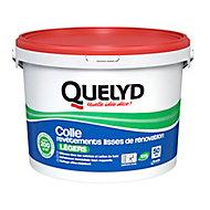 Colle Quelyd pour Revêtements Lisses de Rénovations Légers (jusqu'à 200g/m²) Pâte 10kg