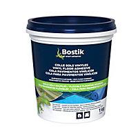 Colle Sols Souples Bostik pour Sols Vinyles - Revêtements Plastiques 1kg