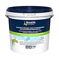 Colle Sols Souples Bostik pour Sols Vinyles - Revêtements Plastiques 7kg