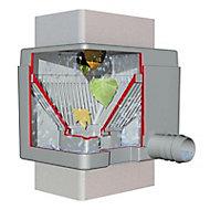 Collecteur filtrant Garantia Quattro gris