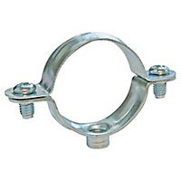 Collier de fixation simple pour tube Ø32 mm, lot de 2