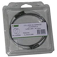 Collier de serrage ø60 à ø205 mm