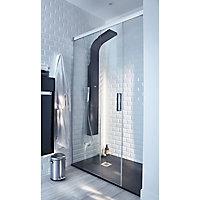 Colonne de douche hydromassante Essekaska noire