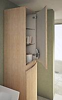 Colonne de salle de bain Cooke & Lewis aspect bois Vague 40 cm