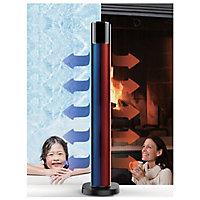 Colonne soufflante oscillante 2 en 1 (radiateur / ventilateur) Optiméo 2200W
