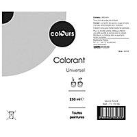 Colorant Colours jaune foncé 250ml