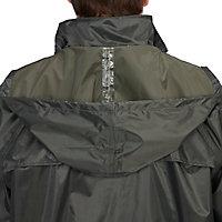 Combinaison de pluie veste et pantalon verte taille L