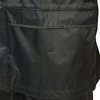 Combinaison de pluie veste et pantalon verte taille M