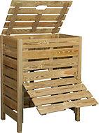 Composteur en bois Burger 400L