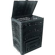 Composteur Pehd Bellijardin noir 350L