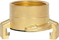 Connecteur express laiton 33mm Hozelock