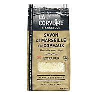 Copeaux de Savon de Marseille La Corvette Savonnerie du midi extra pur 750g