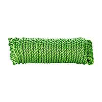 Corde torsadée en polypropylène verte Diall ø10 mm, 7.5 m