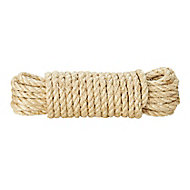 Corde torsadée en sisal Diall ø12 mm, 10 m