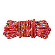 Corde tressée rouge ø9 mm, 7.5 m