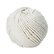 Cordeau de maçon en fil de coton blanc DIALL ø2.5 mm, 30 m