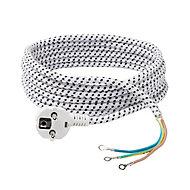 Cordon de fer à repasser H03RT-F Diall 3m