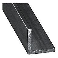 Cornière acier verni 25 x 25 mm, 2 m