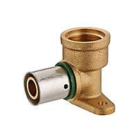 Coude Femelle 1/2 pour PER à sertir Ø12 mm