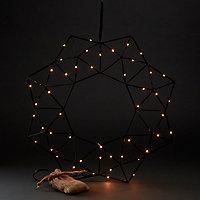 Couronne métal LED