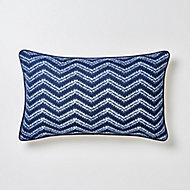 Coussin Azur bleu 30 x 50 cm