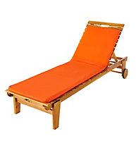 Coussin bain de soleil Cocos orange