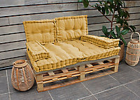 Coussin cale reins jaune 40 x 60 x 10 cm