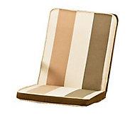 Coussin de chaise / fauteuil Palma rayé 92 x 45 cm